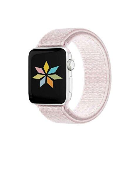 Omelo Apple Watch 38mm Hasır Örme Spor Kordon Hediyeli