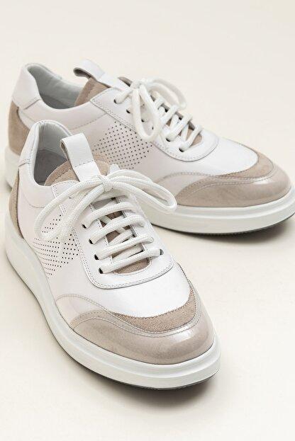 Elle FARSON Beyaz Kombin Kadın  Sneaker 20YSE192360