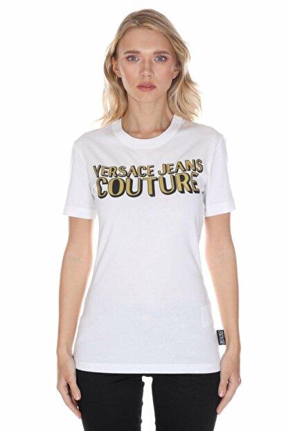 Versace Kadın Beyaz T-shirt