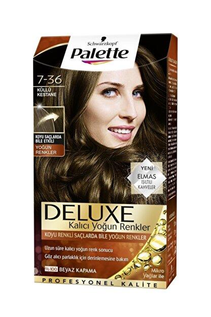 Palette Deluxe Yoğun Küllü Kestane (7.36) Saç Boyası