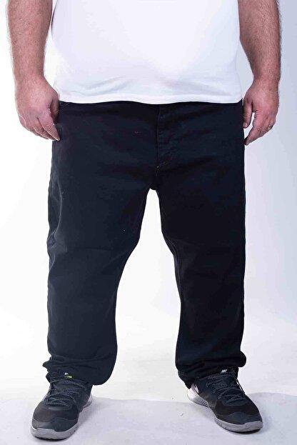 ZENET JEANS Erkek Siyah Büyük Beden Kot Pantolon