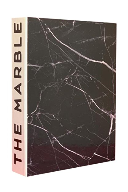 LYN HOME & DECOR The Marble Dekoratif Kutu 27x19x4