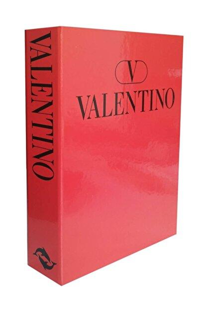LYN HOME & DECOR Kırmızı Valentino Dekoratif Kutu 27x19x4cm.