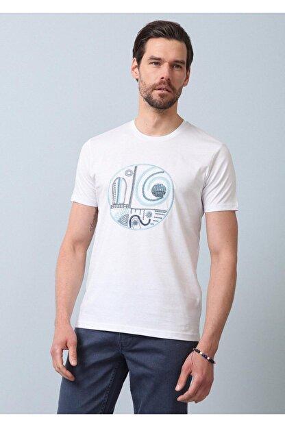Ramsey Desenli Örme T - Shirt