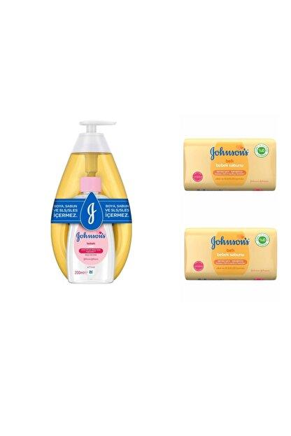 Johnson's Baby Şampuan 750 ml  Baby 200 ml Yağ Baby Sabun Bal 100 gr 2 Adet