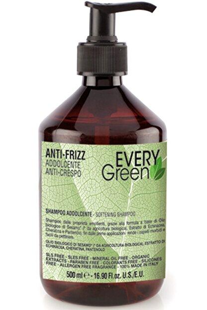 EveryGreen Kabarma ve Elektriklenme Karşıtı Anti Frizz Şampuan- Asi Kabaran Saçlar 500 Ml