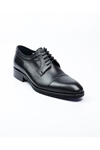 MARCOMEN 10005 Siyah Deri Jurdan Klasik Erkek Ayakkabı Siyah-40