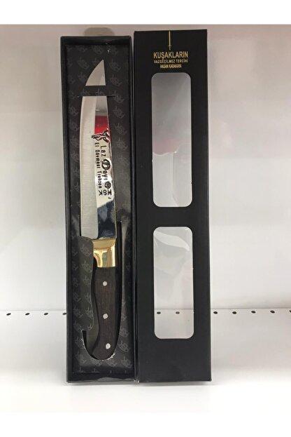 Sürmene El Yapımı Kaliteli Dövme Paslanmaz Çelik Bıçak Kasap 3