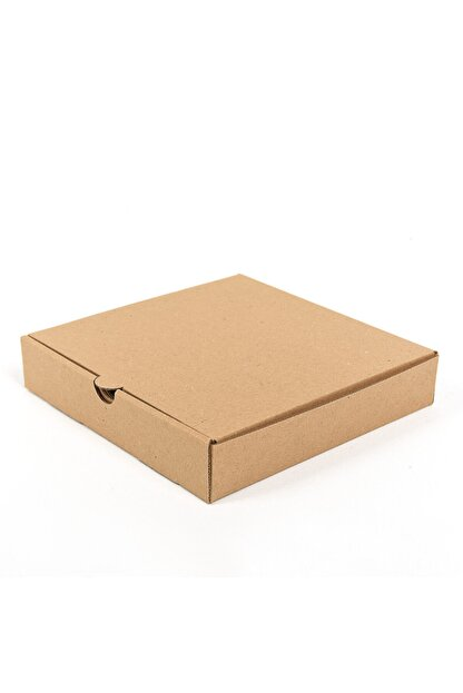 BİGA AMBALAJ Pizza Kutusu 20x20x4,5 Cm ( 100 Adet )