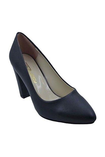 PUNTO 462003 kadın Topuklu Ayakkabı- Siyah-Prada - 37