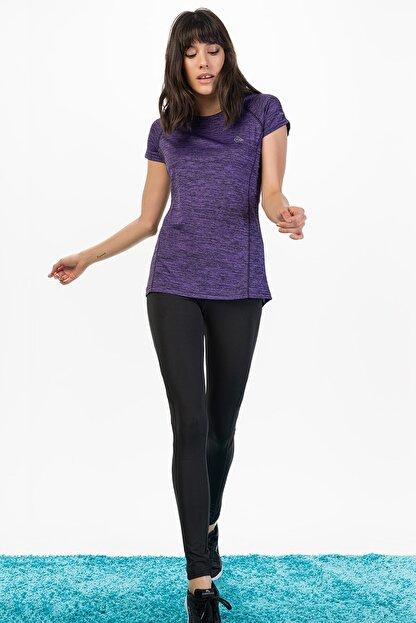 Runever Kadın Mor T-shirt