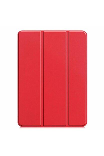 KNY Apple Ipad Pro 11 2020 Arkası Şeffaf Standlı Kapaklı Smart Case Kılıf