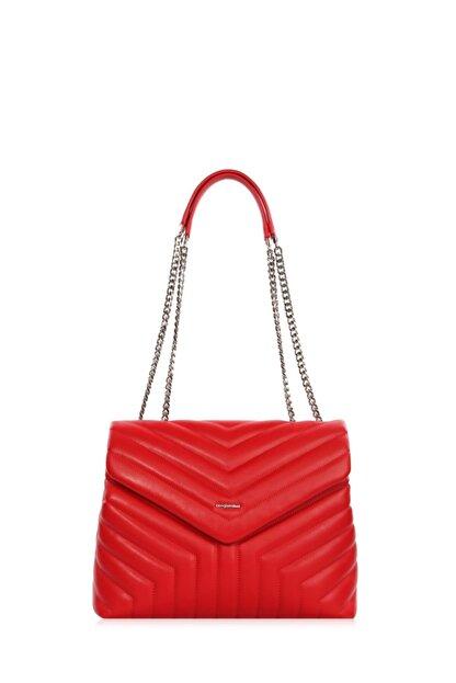 Cengiz Pakel Kadın Çanta Serenity 7266s-kırmızı