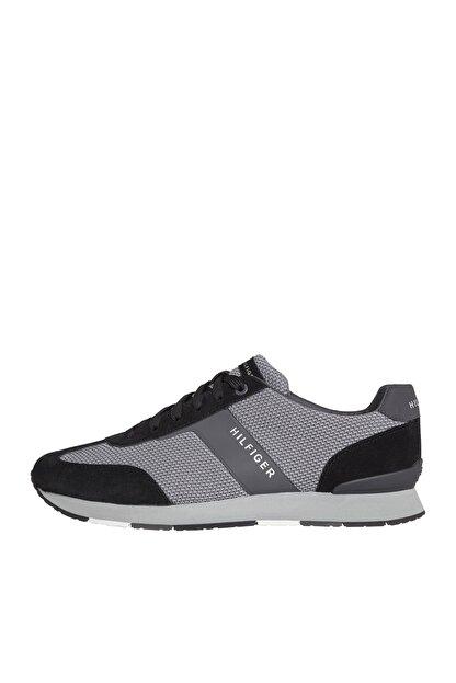 Tommy Hilfiger Erkek Knitted Material Mix Runner Sneaker