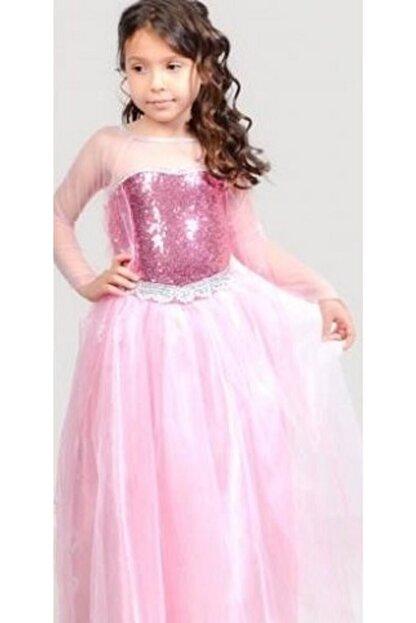 Lady Lou Elsa Kostumu Kabarik Frozen Elsa Kostum Kiz Cocuk Elbise Trendyol