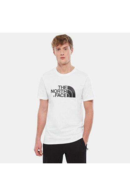 The North Face Erkek Beyaz Sıfır Yaka Tişört