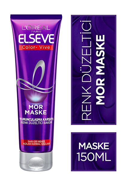 Elseve Color-vive Purple Maske Silver Mor Maske 150 ml.