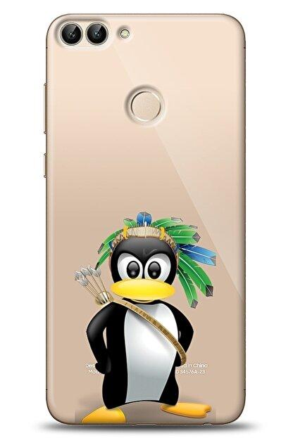 Eiroo Huawei P Smart Indian Penguin Kılıf