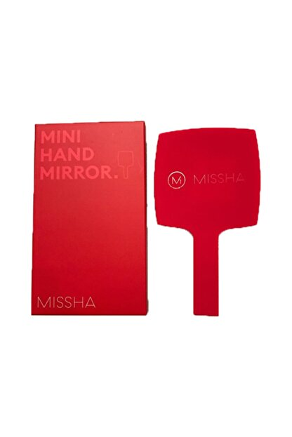 Missha Red Mini Hand Mirror