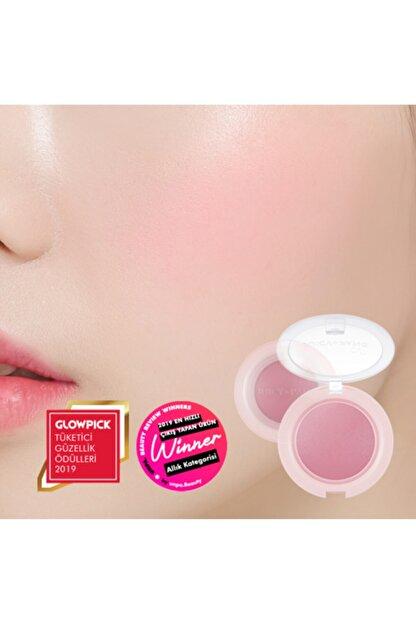 Missha Meyve Tonlarında Doğal Görünümlü Jel Allık APIEU Juicy-Pang Jelly Blusher (VL01)