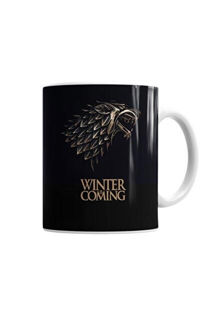 Baskı Dükkanı Game Of Thrones Wınter Is Comıng Kupa Bardak Porselen