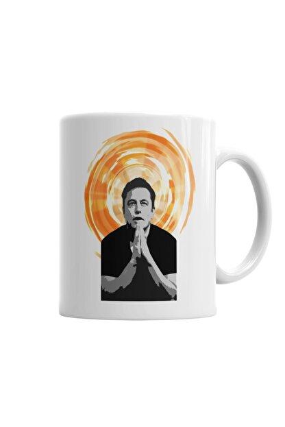 Baskı Dükkanı Elon Musk Kupa Bardak Porselen