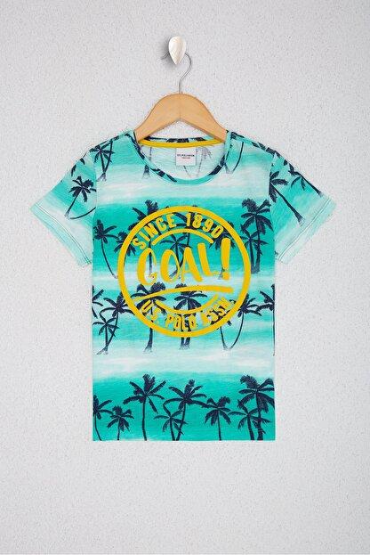 US Polo Assn Yesil Erkek Çocuk T-Shirt
