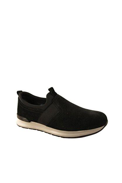 Forelli 43601 Erkek Siyah Nubuk Comfort Ayakkabı