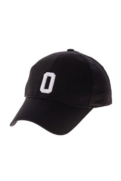 SYT Şapka Alfabe Serisi Siyah O Harfi
