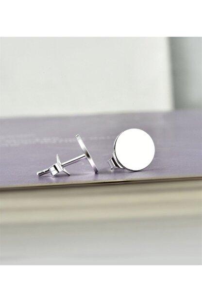 jelux silver Kadın Beyaz Jelux Özel 1000 Ayar Saf Gümüş Dünya Model Küpe