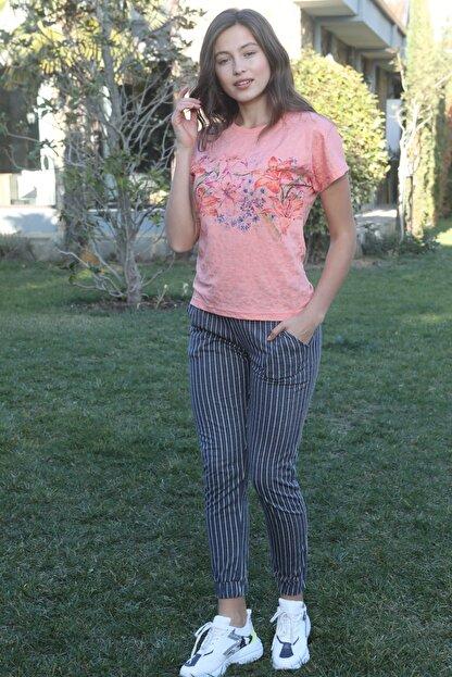 IBIZA Kadın Pembe Pijama Takımı