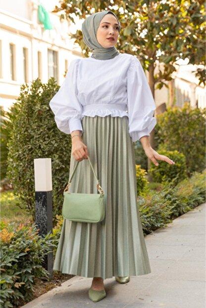 Gizce Holly Mint Yeşili Takım