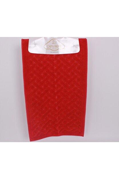 Çapa Home 2li Pamuk Klozet Takım T Kırmızı (hediyeli)