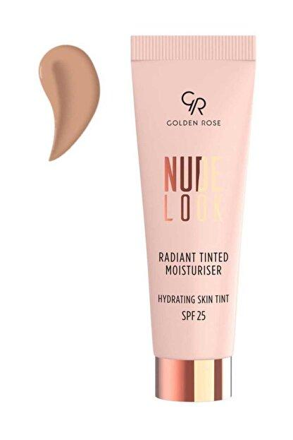 Golden Rose Renkli Nemlendirici - Nude Radiant Tinted Moisturiser No:02 Medium tint SPF: 25 8691190967147