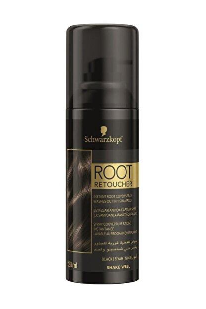 Root Retoucher Beyazları Anında Kapatan Sprey Boya Siyah 120 ml