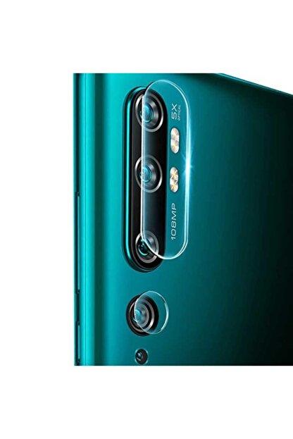 TeknoDuvar Xiaomi Mi Note 10 Kırılmaz Kamera Lens Koruma Temperli Cam