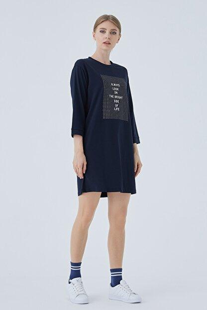 PAULMARK Kadın Relax Tunik Elbise
