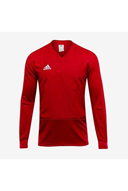 adidas Erkek Kırmızı Con18 Tr Top  Eşofman Üstü Cg0382