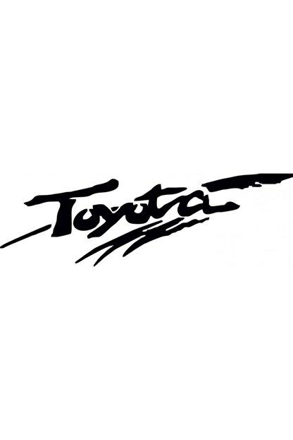 TSC Toyota Sticker Araba Yapıştırması