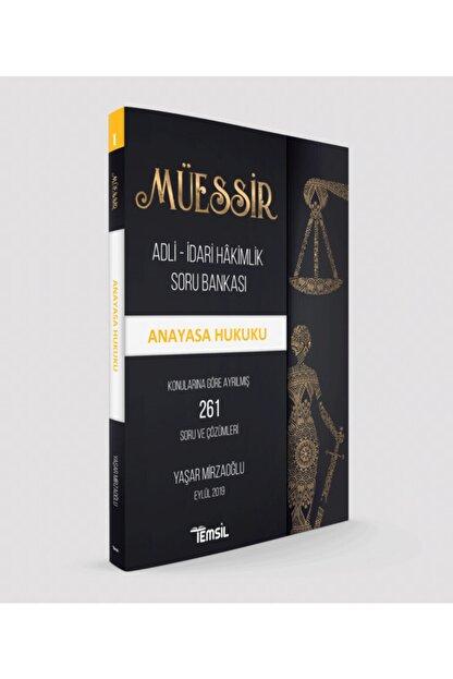 Temsil Kitap Temsil Yayınları Müessir Anayasa Hukuku Soru Bankası