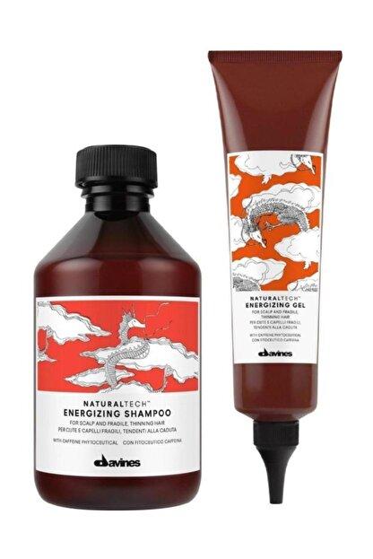 Davines Energizing Yoğunlaştırıcı Şampuan 250 ml + Jel 150 ml