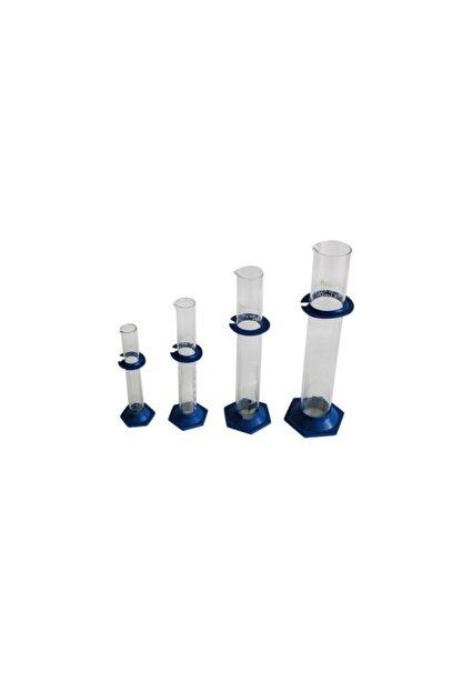 Okul Dünyası Dereceli Silindir (Cam), Plastik Tabanlı 50 ml
