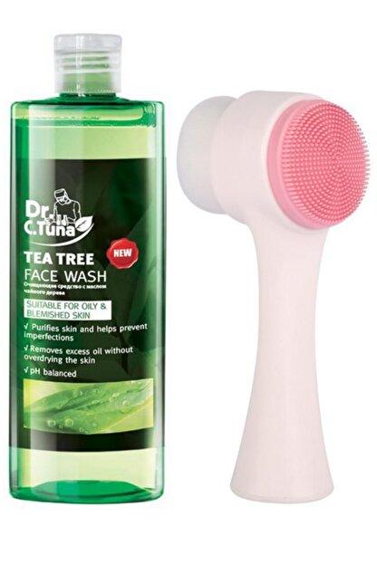 Farmasi Çay Ağacı Yağı Yüz Yıkama Jeli Face Wash 225 ml ve Fluweel Yüz Temizleme Fırçası