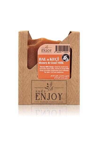 Enjoy Doğal Bal Keçi Sütü El Yapımı Yüz, Saç Ve Vücut Sabunu 100 gr