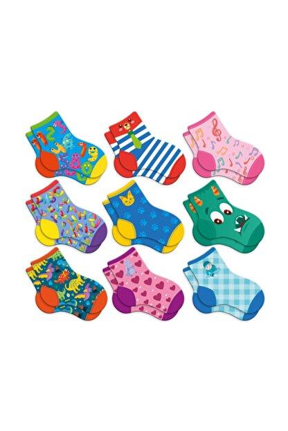 Circle Toys Kayıp Çoraplar Eşleştirme Beceri Zeka Geliştirme Oyunu