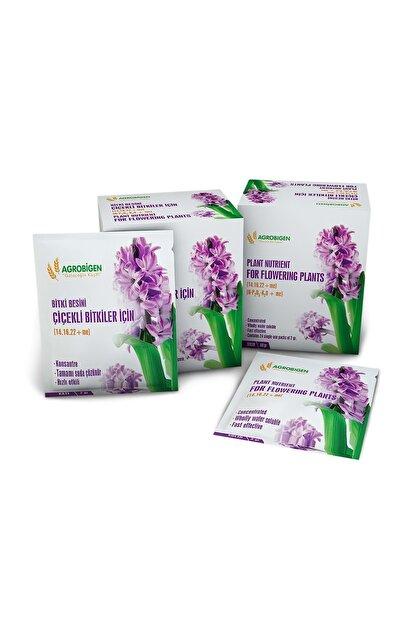 AGROBİGEN Çiçekli Bitkiler Için Bitki Besini (Katı-2 gr X 24 Adet)