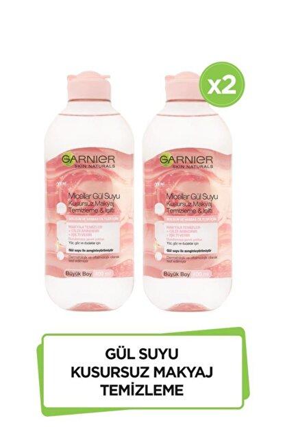 Garnier 2'li Micellar Gül Suyu Kusursuz Makyaj Temizleme & Işıltı 400 ml  36005423268582