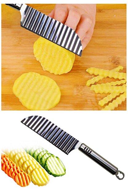 Helen's Home Şekilli Patates Bıçağı Paslanmaz Çelik
