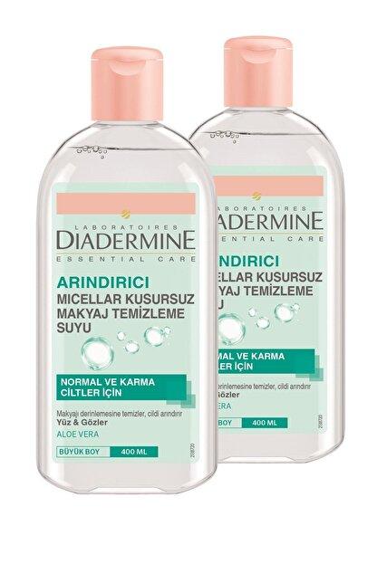 Diadermine Arındırıcı Mıcellar Kusursuz Makyaj Temizleme Suyu 400 ml X 2 Adet