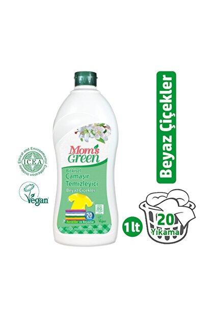 Mom's Green Bitkisel Çamaşır Deterjanı 1 LT - BEYAZ ÇİÇEKLER ICEA
